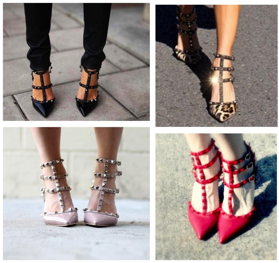 Valentino-rockstud-shoesValentino Shoes Rockstud